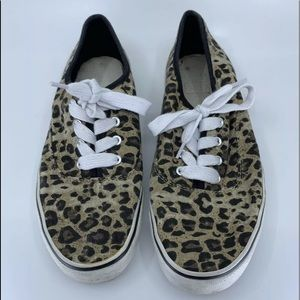 Airwalk Cheetah print size 8 shoes